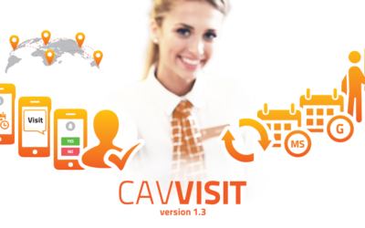 PartnerSec announces major release of the cloud based automatic visitor management system – CavVisit v1.3