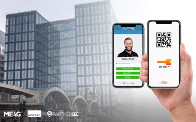 Waterfront Building choose virtual keys from PartnerSec